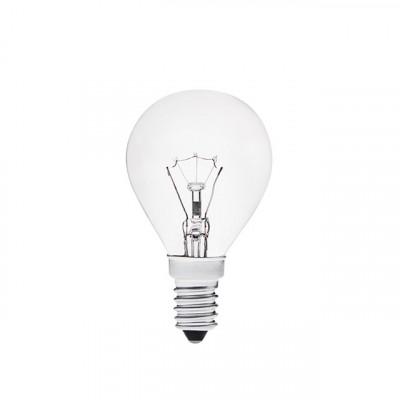Лампа накал, Космос шар Е14 60W прозрачная