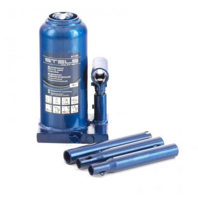 Домкрат гидравлический бутылочный, 4 т, h подъема 170–420 мм Stels