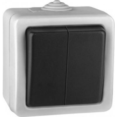 Volsten V01-43-V21-S Marin Выкл, 2-кл (серый) IP54