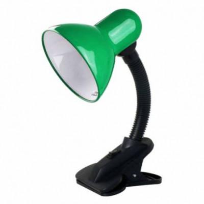 Светильник Camelion KD320 зеленый 230В прищепка