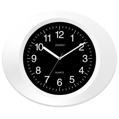 Часы настенные Energy EC-05 (овальные) 9305