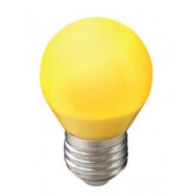 Лампа Ecola св/д шар G45 E27 5W Желтый матов