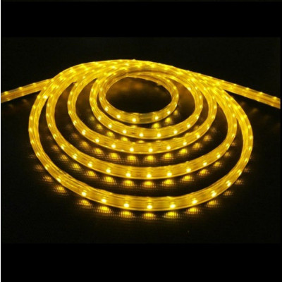 LED-лента FLS-ECO-3528 60 сд/м 4,8Вт IP20 5м желтый EKF
