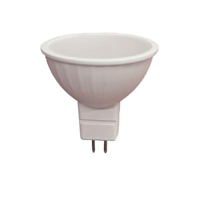 Лампа LED 7,5 W 580Лм 3000K 220 V MR16 пластик+алюм. (LED OPTI MR16-7.5W-GU5.3-N) OPTI