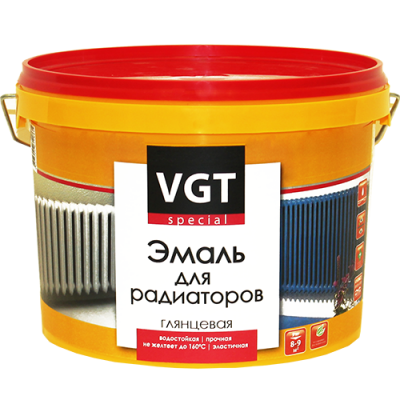 Краска ВД-АК-1179 для радиат. ВГТ 1 кг