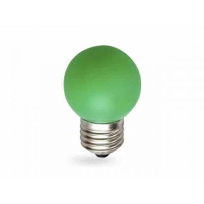 Светодиодная лампа HOROZ 1W E27 Зеленая 001-017-0001