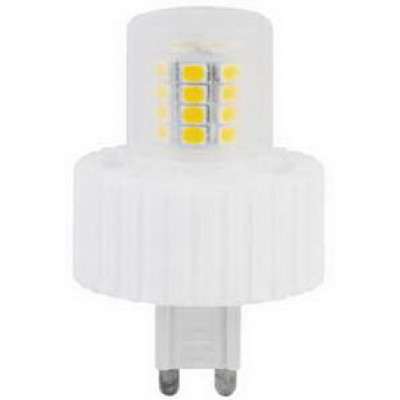 Лампа Ecola G9 LED 7,5W Corn Mini 220V 4200K 300° (керамика) 61x40