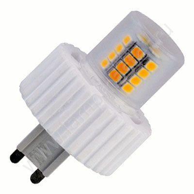 Лампа Ecola G9 LED 8W Corn Mini 220V 2800K 360° (керамика) 61x40 (В)