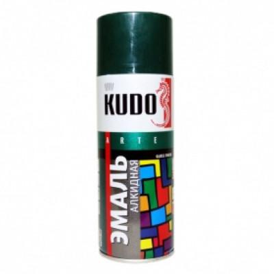 Аэрозольная эмаль универсальная зеленая KU-100081
