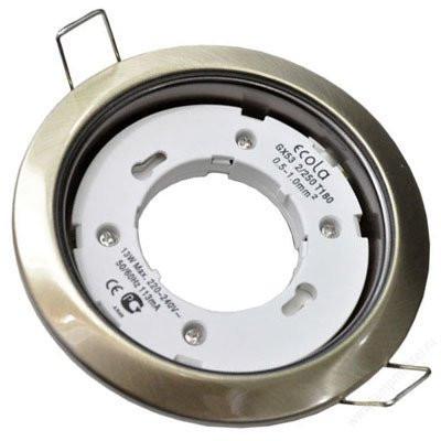 Светильник Ecola GX53 H4 Downlight without reflector МАТ. ХРОМ 38х106