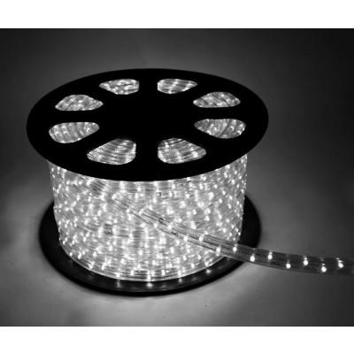 Дюралайт белый свечение с динамикой 3W 220В 1,6Вт/м d1Змм IP44 Космос KOC-DL-3W13-W