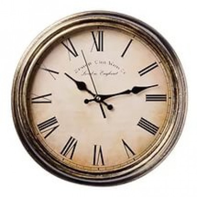 "Часы настенные ""Ретро"", 35x35см, пластик, 1хАА, арт. 10"
