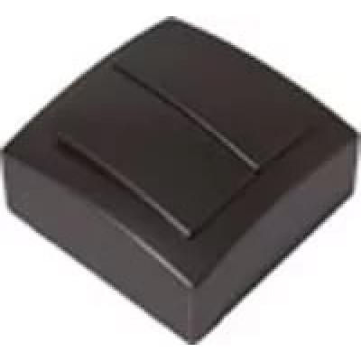 Выкл. антрацит о/п 2 кл. NILSON THEMIS