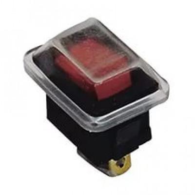 Выключатель YL-211-04 красный (2с) TDM
