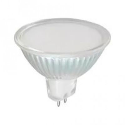 Лампа Ecola MR16 LED 7,0W 220V GU5.3 6000K матовое стекло (композит) 48x50