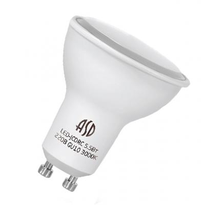 Лампа LED 7,5 W 230V GU10 4000К дневной ASD