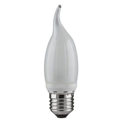 Лампа 9W Е27 46500К свеча на ветру белый Электростандарт