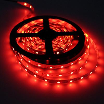 Светодиодная лента Ecola PRO 7,2W/m 12V IP20 10mm 30Led/m красная