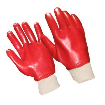 Перчатки бензо-, маслостойкие красные