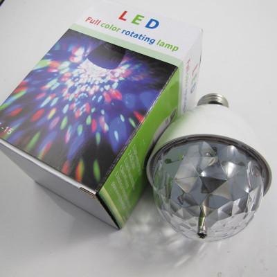 Лампа LED лампочка-цветомуз.К105