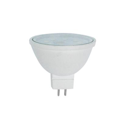 Лампа Ecola MR16 LED 10W 220V GU5.3 4200K матовое стекло (композит) 51x50