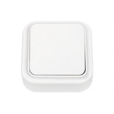 Выключатель 1кл бел Пралеска ОП,10А, 220В (А16-131) (3/90)