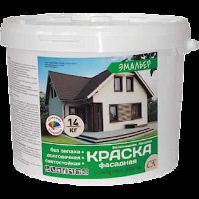 Краска ВД Фасадная 1,4 кг Эмальер