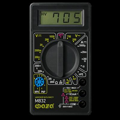 Мультиметр M832 ФАЗА