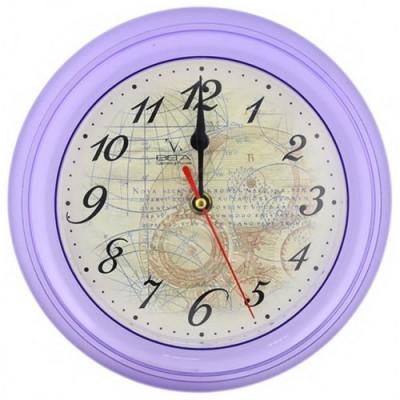 Часы настенные Вега П6-13-13 прозрачный корпус А