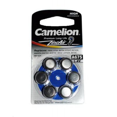 Элемент питания Camelion ZA 675 BL6 6/60