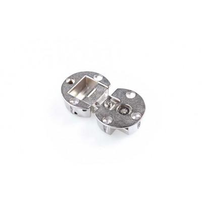 Петля секретерная d35 * h12 , никель 50138