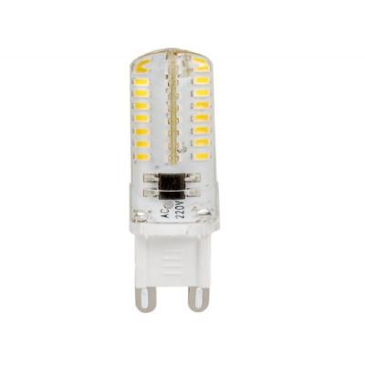 Лампа Led 4W G9 4000К 350Лм 220V АС силикон (LED OPTI G9-4.0 W-NW SL) OPTI Включай