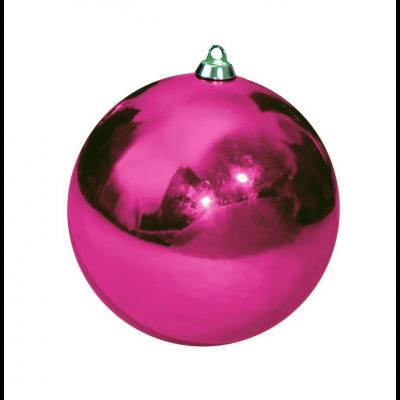 Шар Т174-6 8см (глянцевые) розовый
