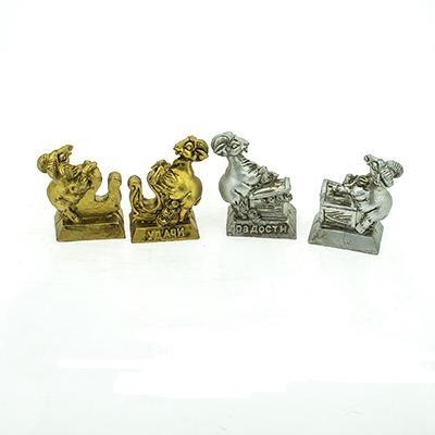 """Магнит """"Барашек золот/серебро с денг. SA002"""