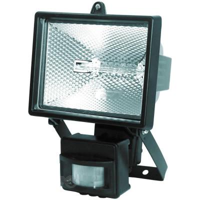 Прожектор FL-150S (0102) 220 V/150W черн. датчик движения
