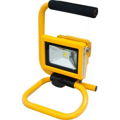 Прожектор LL-260 Feron 10W IP65 квадрат/переносной желтый