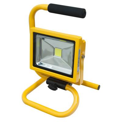 Прожектор LL-261 Feron 20W IP65 квадрат/переносной желтый