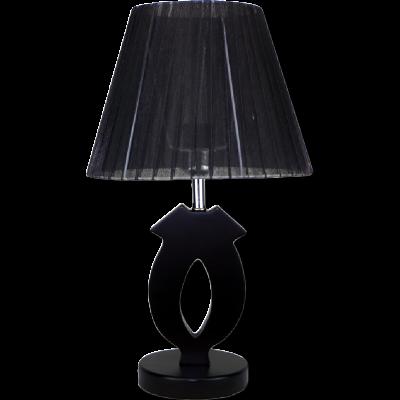 Настольная лампа 7309 чёрный/чёрный абажур h 47 см 1x40W Е27 ZNG15