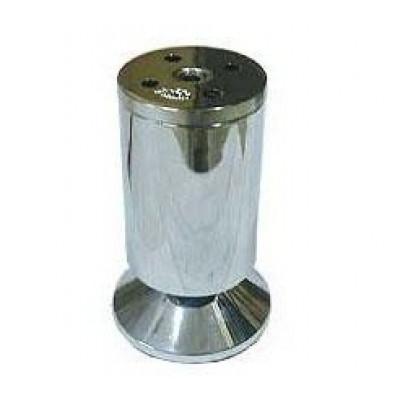 Опора мебельная FF A001 Cr h-100 аллюм. хром