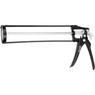 """Пистолет для герметика 310 мл, """"скелетный"""" усиленный с фиксатором, 6-гранный шток 7 мм SPARTA"""