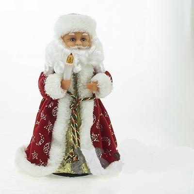 Дед Мороз 30см. СК-09 со свечой (муз)