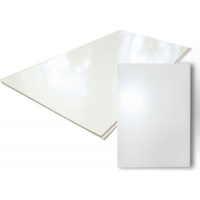 Панель ПВХ 3 Х 0,39 м Белый лак