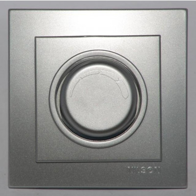 Диммер 600 W, серебро NILSON THEME