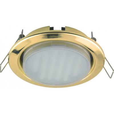 Светильник Ecola GX53/золото H4 38*106