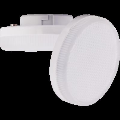Лампа Ecola Light GX53 LED 8W Tablet 220V 6400K 27x75 матовое стекло 30000h
