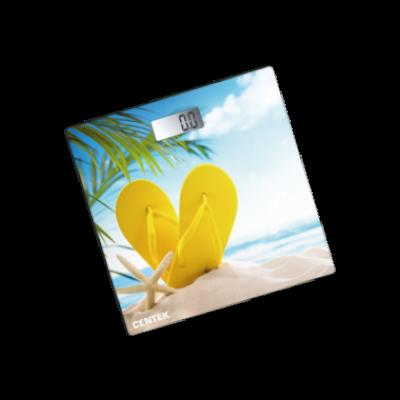 Весы напольные электрон Centek СТ-2426 180 кг Пляж