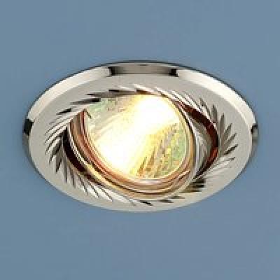 Св. глн. Электростандарт 704 CX MR16 PS/N перл. серебро/никель