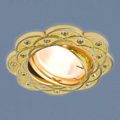 Св. глн. Электростандарт 8006 MR16 GD/N золото/никель