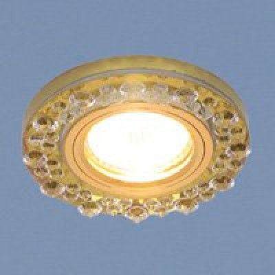 Св. глн. Электростандарт 8260 GD зеркальное золото МR16
