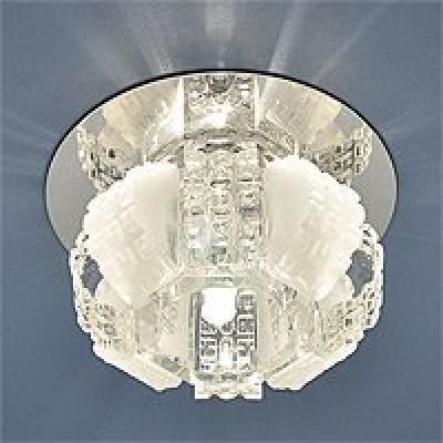 Св. глн. Электростандарт 833 WH прозр/матов. G4